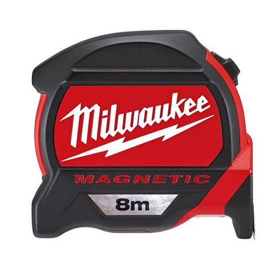 Image of Milwaukee 48227308 8 Metre Metric Premium Tape Measure