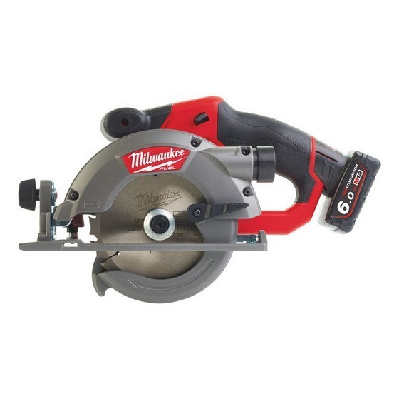 Image of MILWAUKEE M12CCS44602 12V BRUSHLESS CIRCULAR SAW WITH 2X60AH LIION BATTERIES