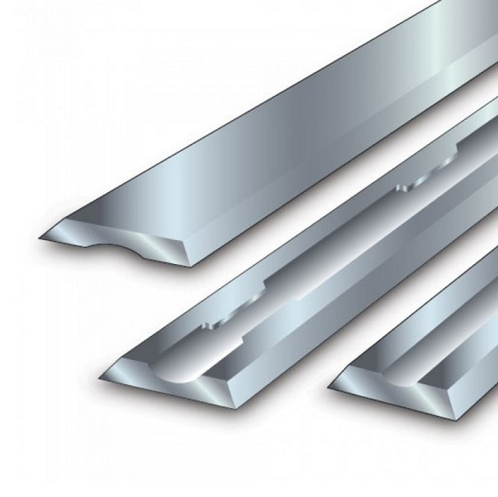Image of TREND PB25 SOLID CARBIDE PLANER BLADE SET 805MM X 59MM X 12MM