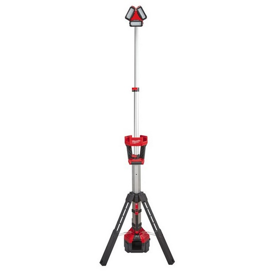 MILWAUKEE M18HSAL0 ROCKET TOWER LIGHT WITH CHARGER 110V