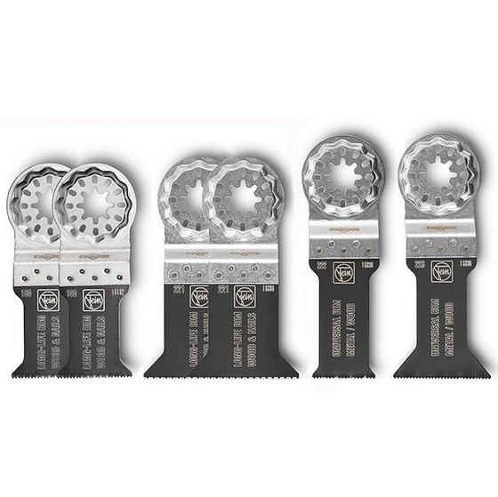 FEIN STARLOCK BEST OF ECUT ACCESSORY SET PACK OF 6 BLADES