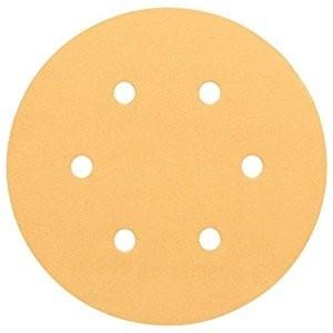 Image of Bosch 150mm Sanding Discs P240 Grit Pack Of 6