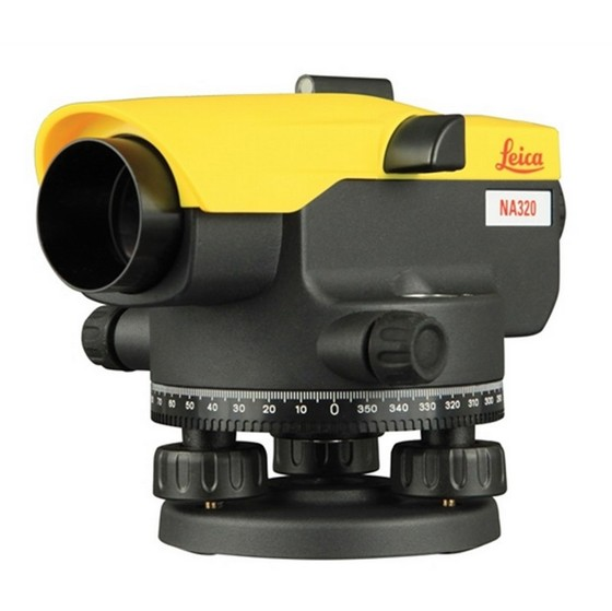Image of LEICA NA320 OPTICAL LEVEL 360 DEGREE