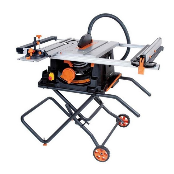 EVOLUTION RAGE 5S 255MM MULTIPURPOSE TCT TABLE SAW 110V