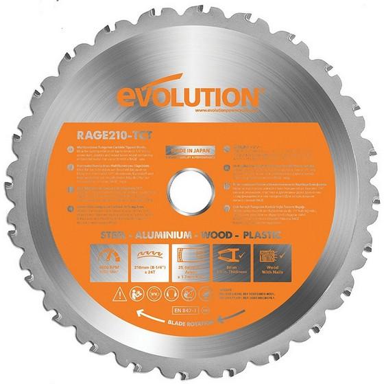 Image of Evolution Multipurpose Blade 210mm