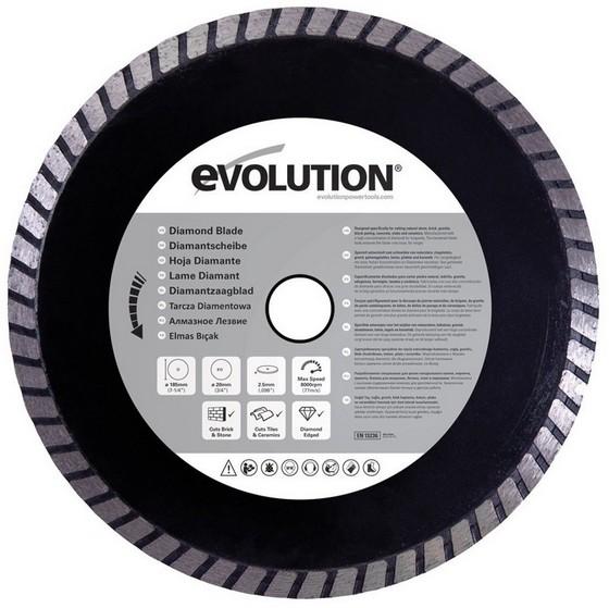 EVOLUTION DIAMOND BLADE 185MM