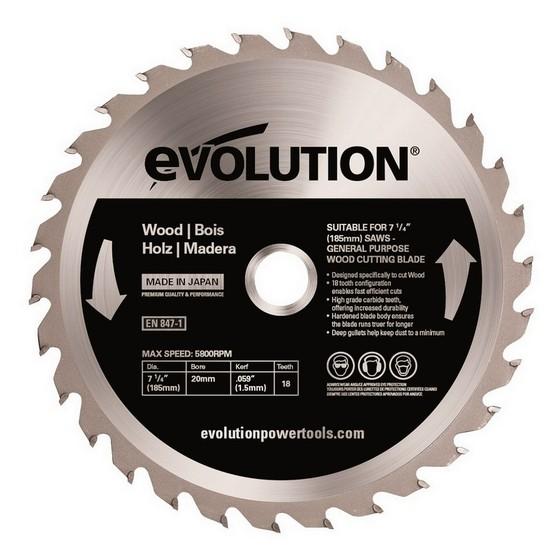 Image of Evolution Wood Blade 185mm