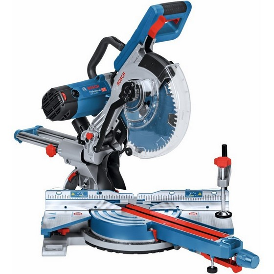 Image of Bosch Gcm350254 10in Double Bevel Mitre Saw 110v