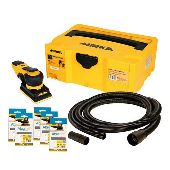 Image of MIRKA DEOS 353CV 81X133MM SANDER DECO KIT 240V