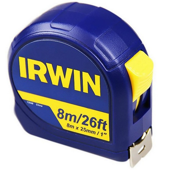 Image of IRWIN 13948 8M 26FT POCKET TAPE MEASURE