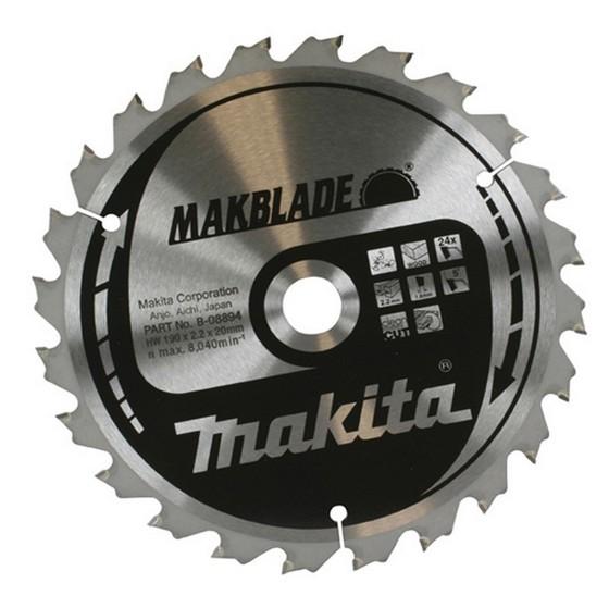 Image of Makita B08969 Makblade Circular Saw Blade 48t X 30 X 216mm