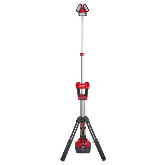 MILWAUKEE M18HSAL502B ROCKET TOWER LIGHT WITH 2X 50AH LIION BATTERIES 110V