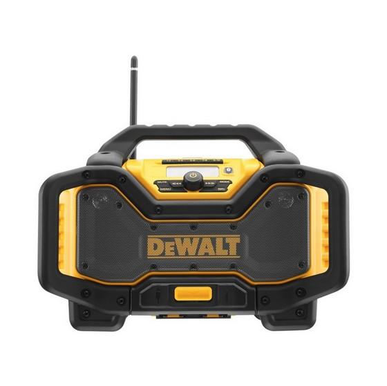 Image of Dewalt Dcr027 Flexvolt Radio Charger Dabfm 240v