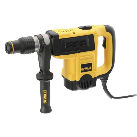 Image of DEWALT D25820KITGB 5KG SDS MAX DEDICATED CHIPPING HAMMER WITH ACCESSORIES