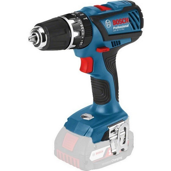 Image of BOSCH GSB 182LI PLUS 18V COMBI DRILL LIGHTSERIES BODY ONLY SUPPLIED IN LBOXX