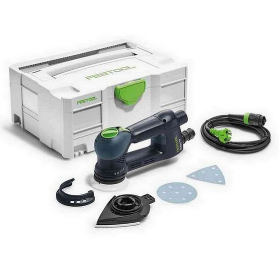 Image of FESTOOL 571822 ROTEX RO 90 DX FEQPLUS ECCENTRIC SANDER 110V SUPPLIED IN SYSTAINER CASE