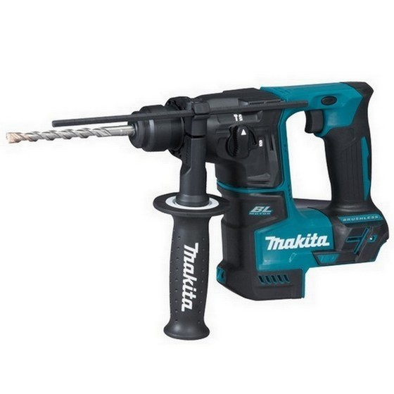 Image of Makita Dhr171z 18v Compact Brushless Sds Hammer Drill Body Only