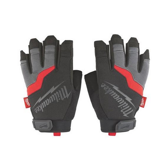 Image of Milwaukee 48229742 Fingerless Gloves Large