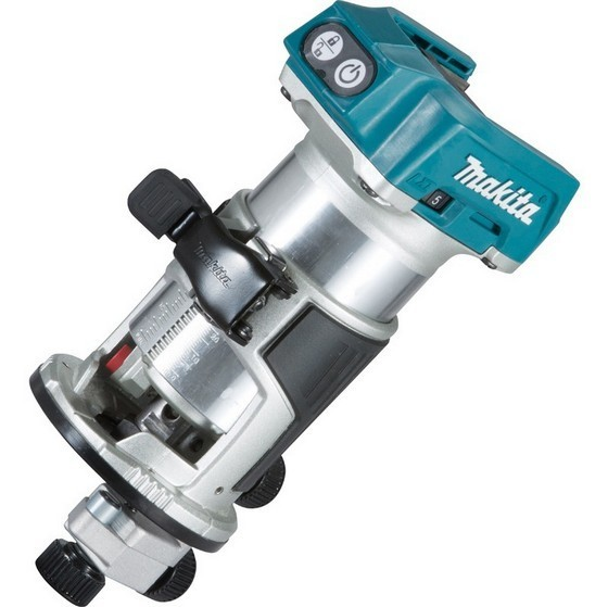 Image of Makita Drt50zx4 18v Brushless Router With Trimmer Guide Body Only