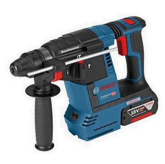 Image of BOSCH GBH18V26 18V BRUSHLESS SDS HAMMER DRILL 1 X 50AH LIION BATTERY