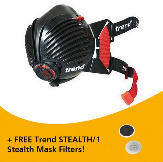 Image of TREND STEALTHSM STEALTH MASK SMALL MEDIUM
