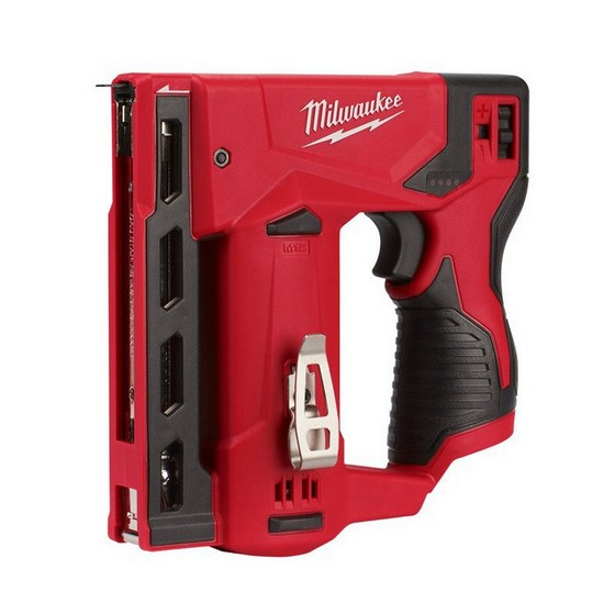 Image of MILWAUKEE M12BST0 12V STAPLER BODY ONLY