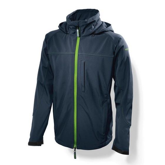 Image of Festool 201324 Softshell Jacket Dark Blue Xlarge