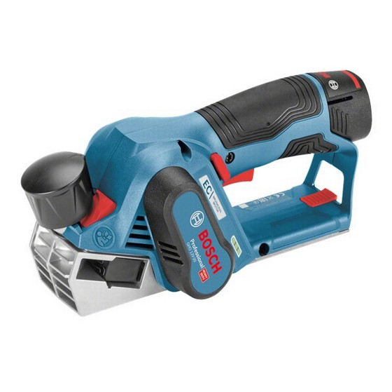 Image of BOSCH GHO12V20 BRUSHLESS 12V PLANER SUPPLIED IN LBOXX WITH 2X 30AH LIION BATTERIES