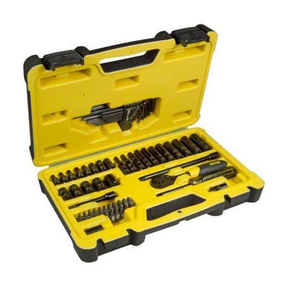 Image of STANLEY STA072653 66 PIECE SOCKET SET 14 INCH