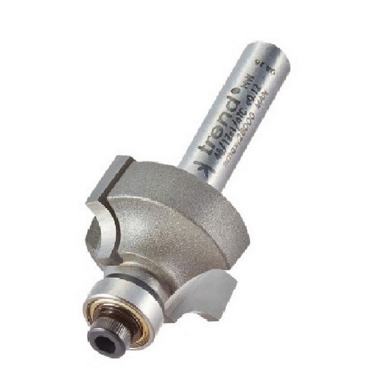 Image of TREND 4612X14TC BEARING GUIDED OVOLO CUTTER 48MM RADIUS