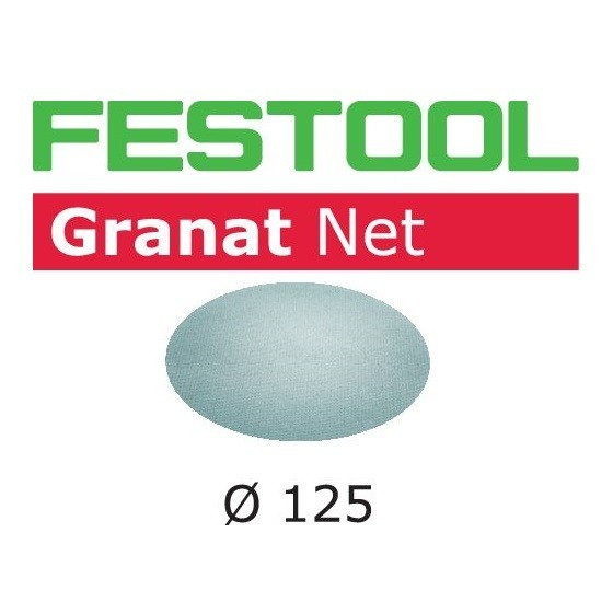 Image of FESTOOL 203295 GRANAT SANDING SHEETS 125MM 100 GRIT PACK OF 50