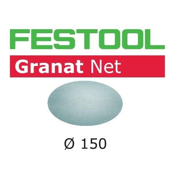 Image of FESTOOL 203303 GRANAT SANDING SHEETS 150MM 80 GRIT PACK OF 50