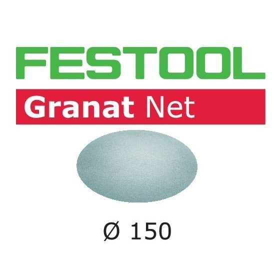 Image of FESTOOL 203304 GRANAT SANDING SHEETS 150MM 100 GRIT PACK OF 50