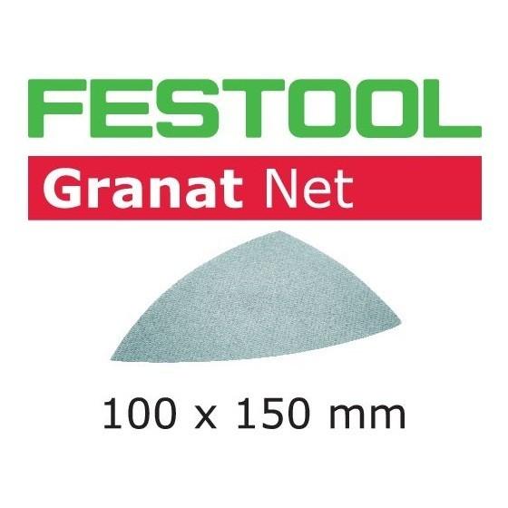 Image of FESTOOL 203322 DELTA SANDING SHEET 100X150MM 120 GRIT PACK OF 50