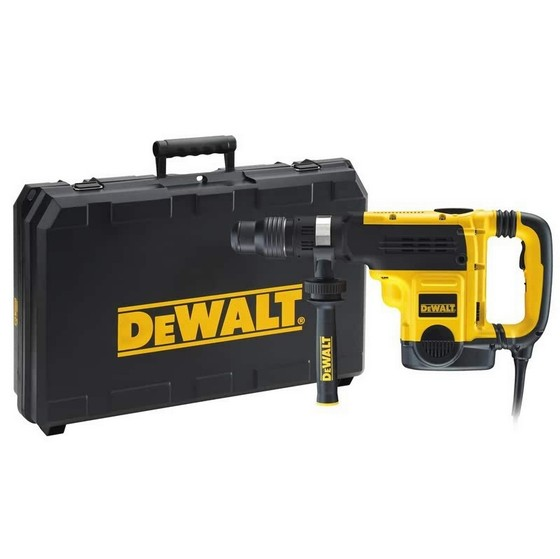 Image of DEWALT D25721KLX 7KG SDS MAX COMBINATION HAMMER DRILL 110V
