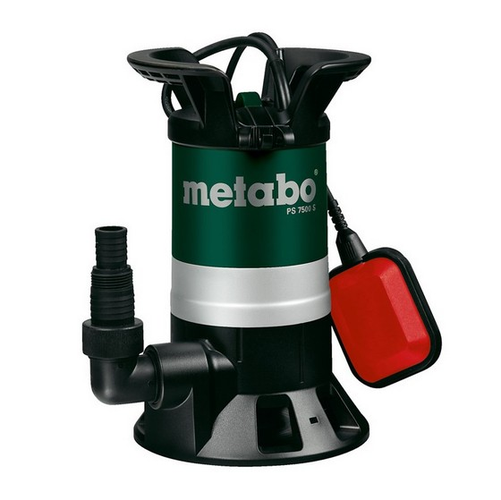 Image of METABO PS7500S DIRTY WATER SUBMERSIBLE PUMP 450W 240V