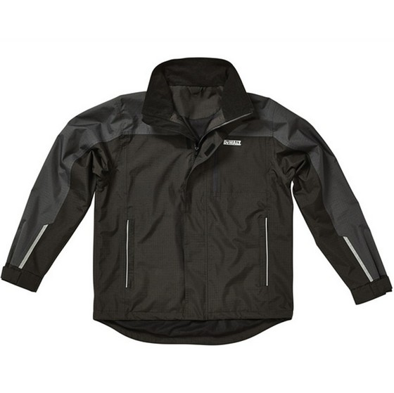 Image of DEWALT STORM JACKET GREYBLACK XXLARGE