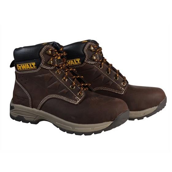 Image of Dewalt Carbon Safety Hiker Boot Brown Size 9
