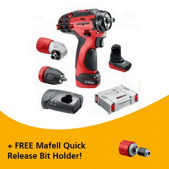 Image of MAFELL 919921 A10 M 108V DRILL DRIVER KIT