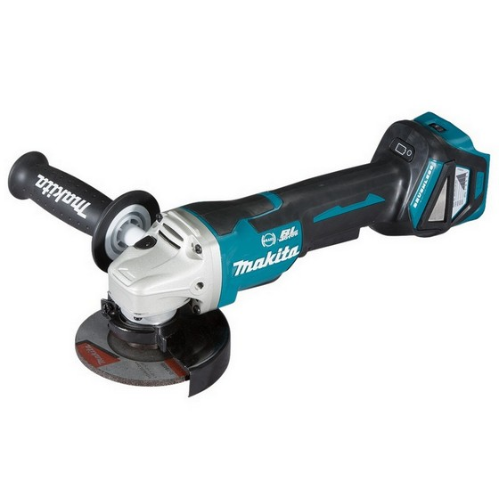 Image of MAKITA DGA467Z 18V 115MM BRUSHLESS PADDLE SWITCH ANGLE GRINDER BODY ONLY