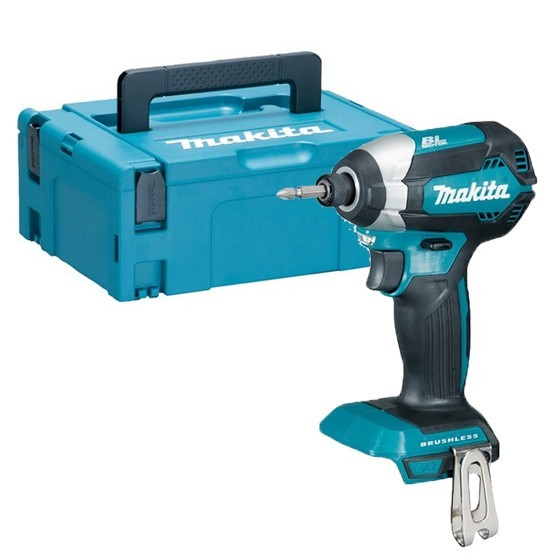 Image of MAKITA DTD153ZJ 18V BRUSHLESS IMPACT DRIVER BODY ONLY SUPPLIED IN MAKPAC CASE