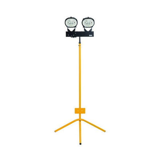 Image of DEFENDER E202545 TWIN HALOGEN TRIPOD LIGHT 240V