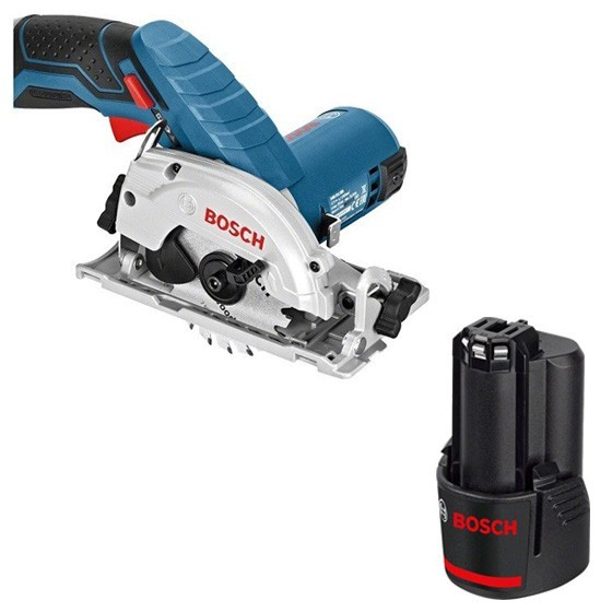Image of BOSCH GKS12V26N 12V CIRCULAR SAW WITH 1X 20AH LIION BATTERY