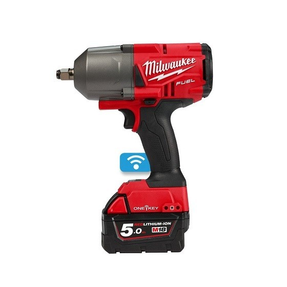 Image of MILWAUKEE M18ONEFHIWF12502X M18 ONEKEY FUEL IMPACT WRENCH 12 INCH