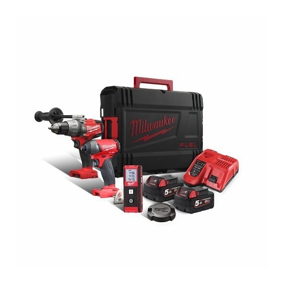 Image of MILWAUKEE M18FPP3G502X M18 FUEL TWIN PACK