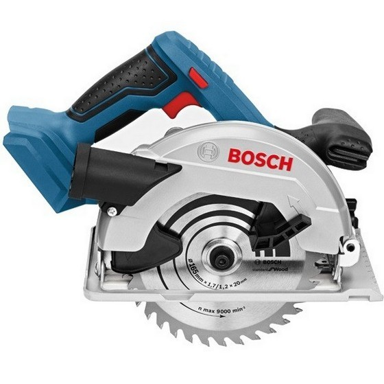 Image of BOSCH GKS18V57 G 18V CIRCULAR SAW SUPPLIED IN LBOXX BODY ONLY