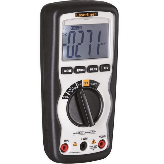 Image of LASERLINER 083034A MULTIMETER COMPACT PRO