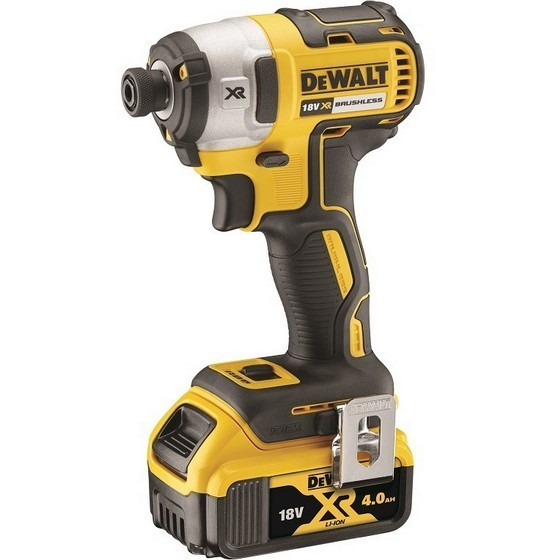 Image of DEWALT DCF887M1 18V BRUSHLESS IMPACT DRIVER WITH 1X 40AH LIION BATTERIES