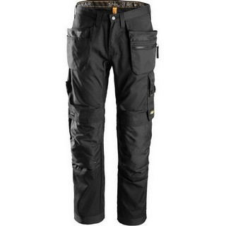 SNICKERS 6200 ALLROUND WORK TROUSERS BLACK (32 INCH LEG)