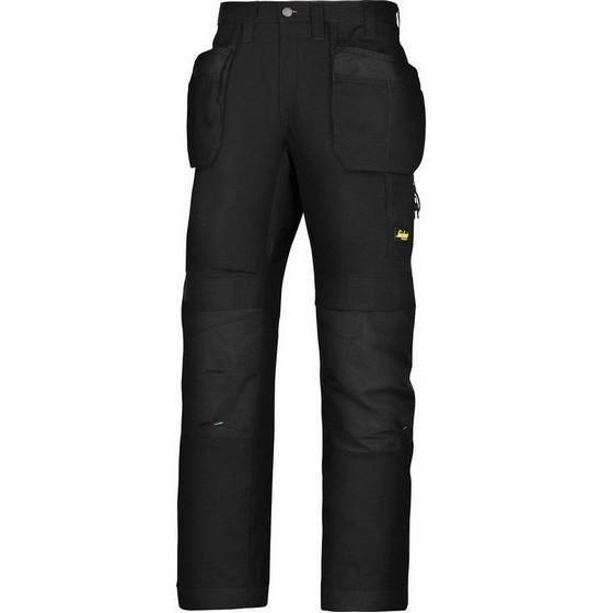 Image of SNICKERS 6207 LITEWORK TROUSERS BLACK 32L 33W